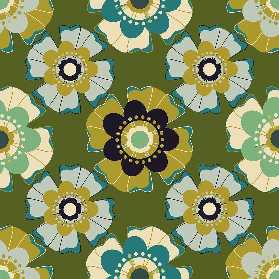 Posters Digital Art - Flowers 7 by Lisa Noneman