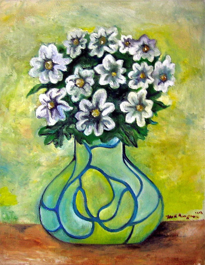 Flowers for Jenny Painting by Martel Chapman