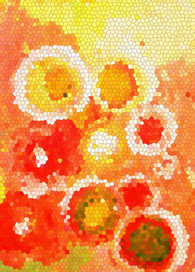 Art Painting - Flowers Iv by Patricia Awapara