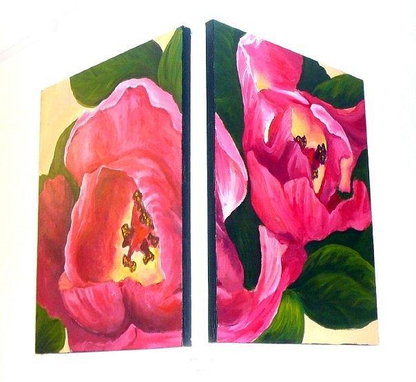 Flowers Painting by Lauren  Pecor
