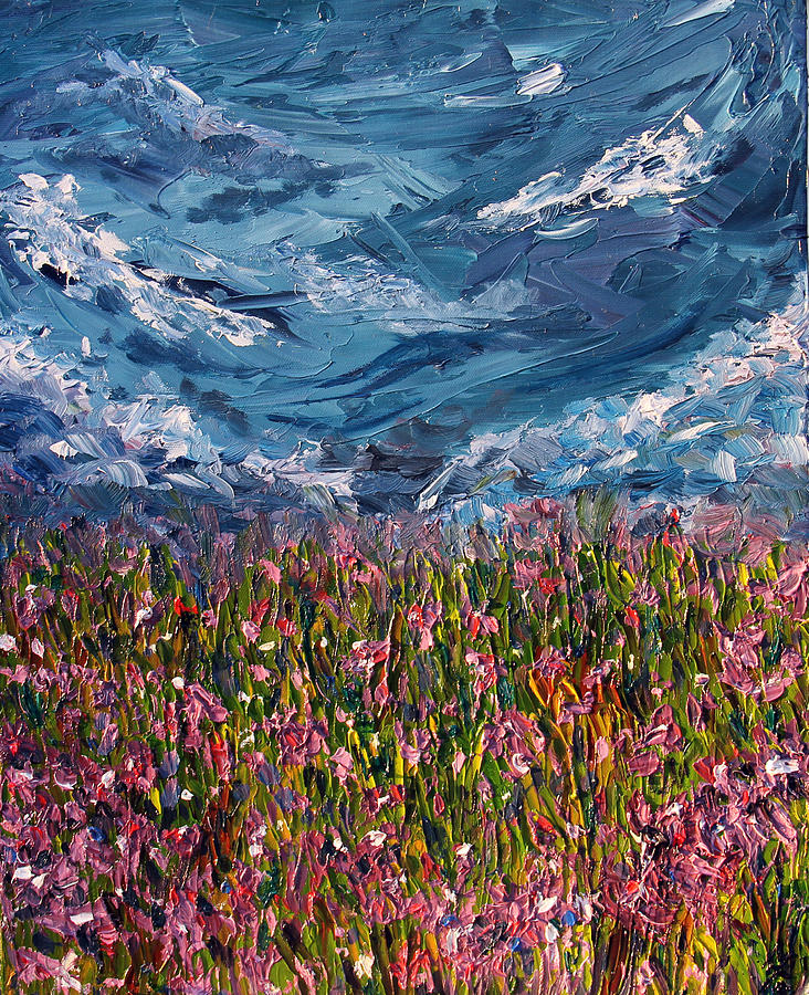 Flowers Painting - Flowers Of The Field by Meaghan Troup