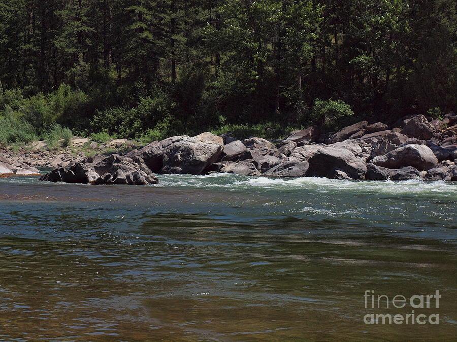 Water Digital Art - Flowing by Christian Jansen