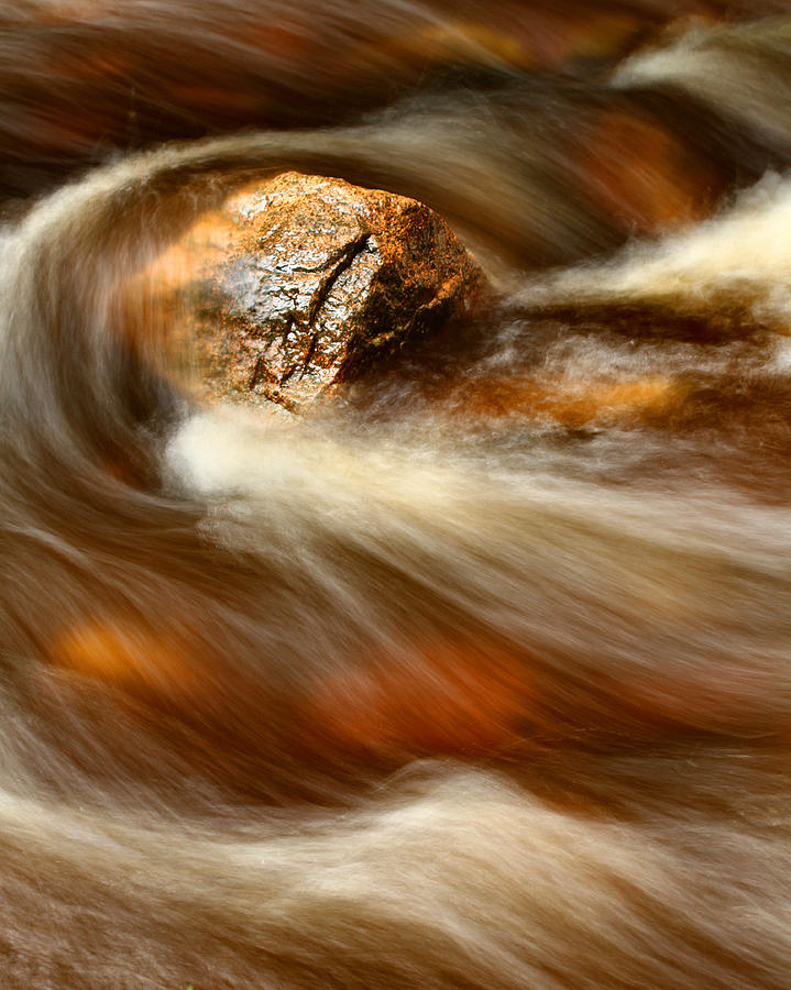 Acadia Photograph - Flowing Stream by Acadia Photography