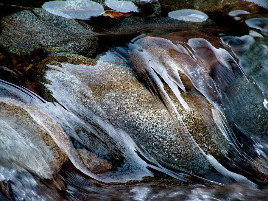 Water Photograph - Flowing Water by Ben Wa