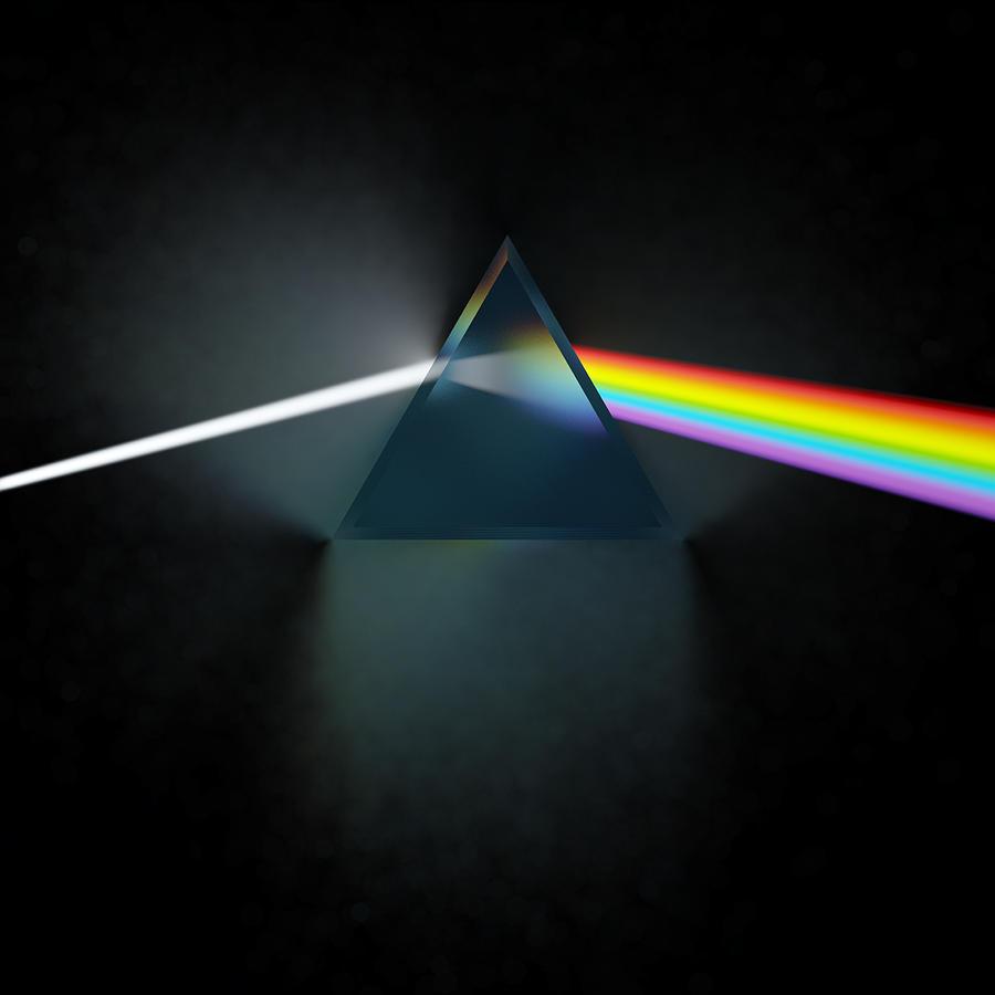 Pink Floyd Digital Art - Floyd in 3D Simulation by Meir Ezrachi