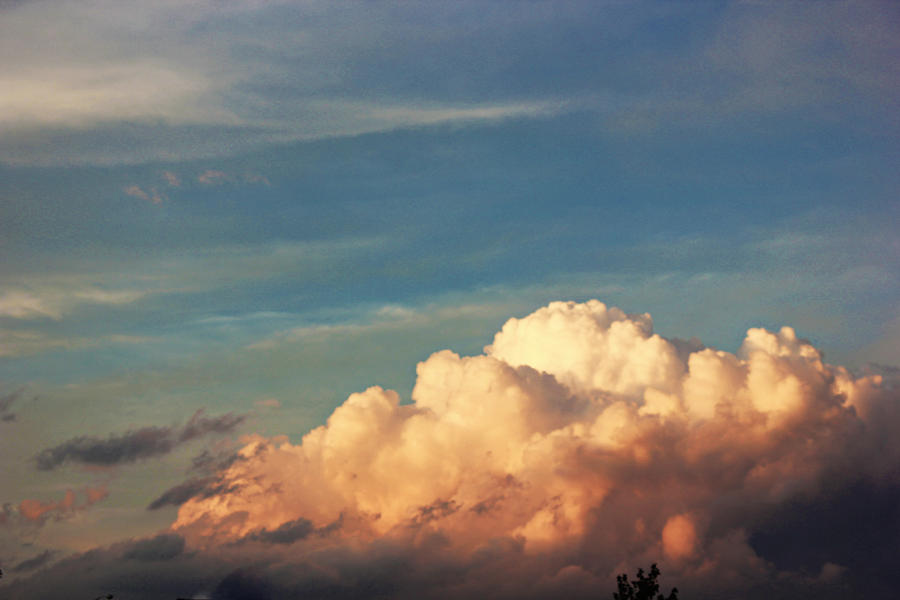 Clouds Photograph - Fluffy by Danielle Keltner