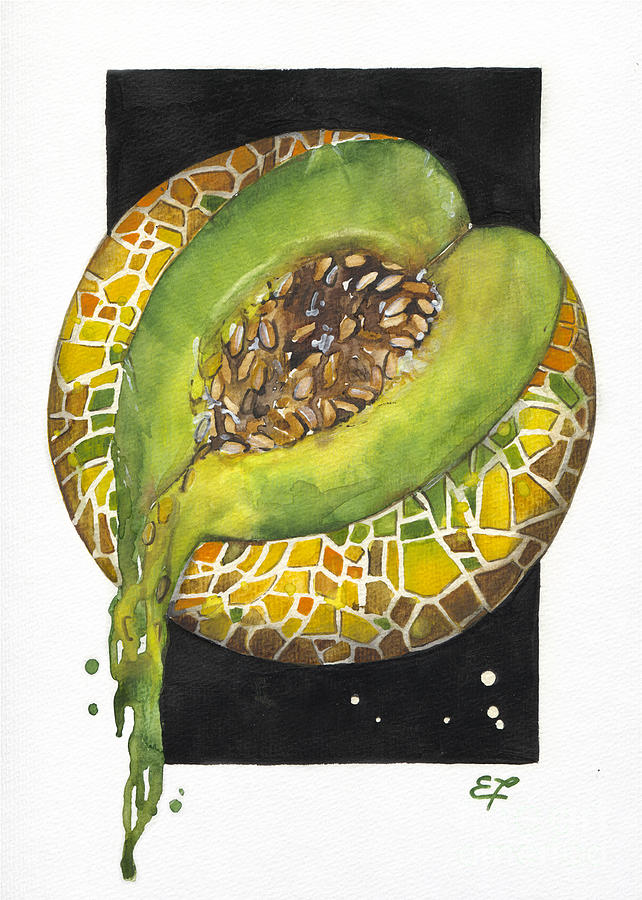 Mediterranean Painting - Fluidity 10 - Elena Yakubovich by Elena Yakubovich