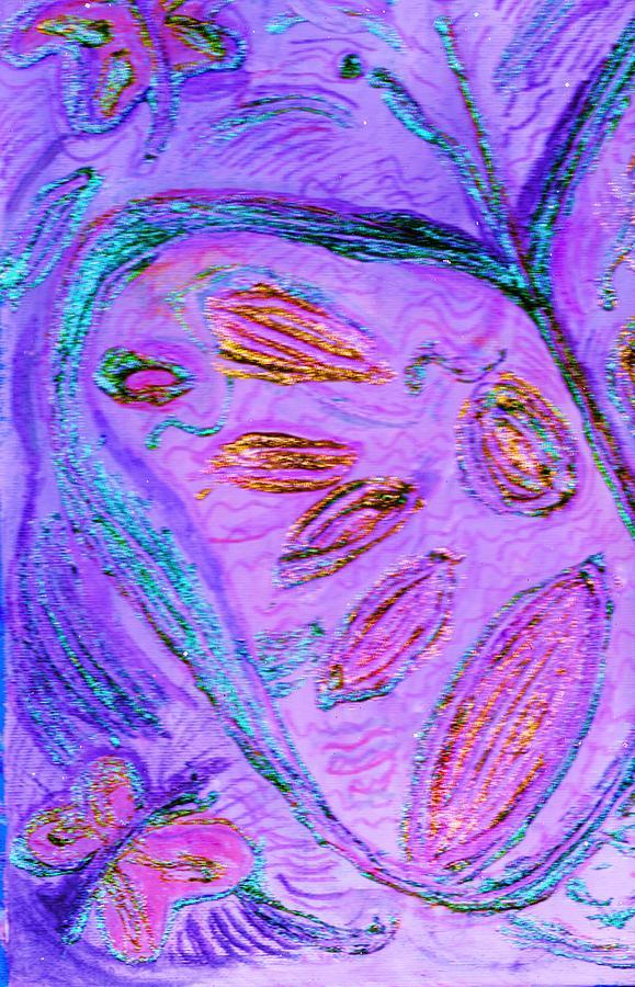 Butterfly Mixed Media - Flutterby Fantasy  by Anne-Elizabeth Whiteway