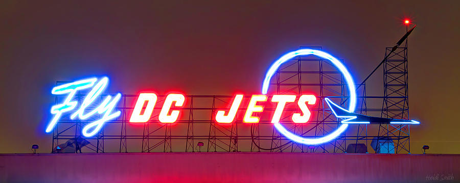 Plane Photograph - Fly Dc Jets by Heidi Smith