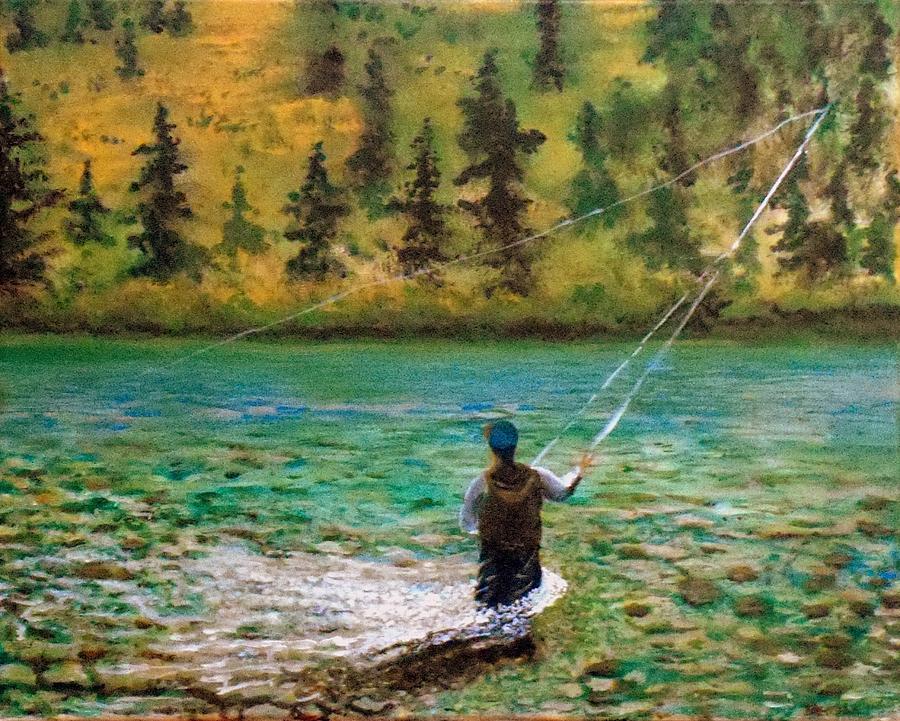 Omaž ribolovcu i ribolovu - Page 12 Fly-fishing-on-a-stream-william-tremble