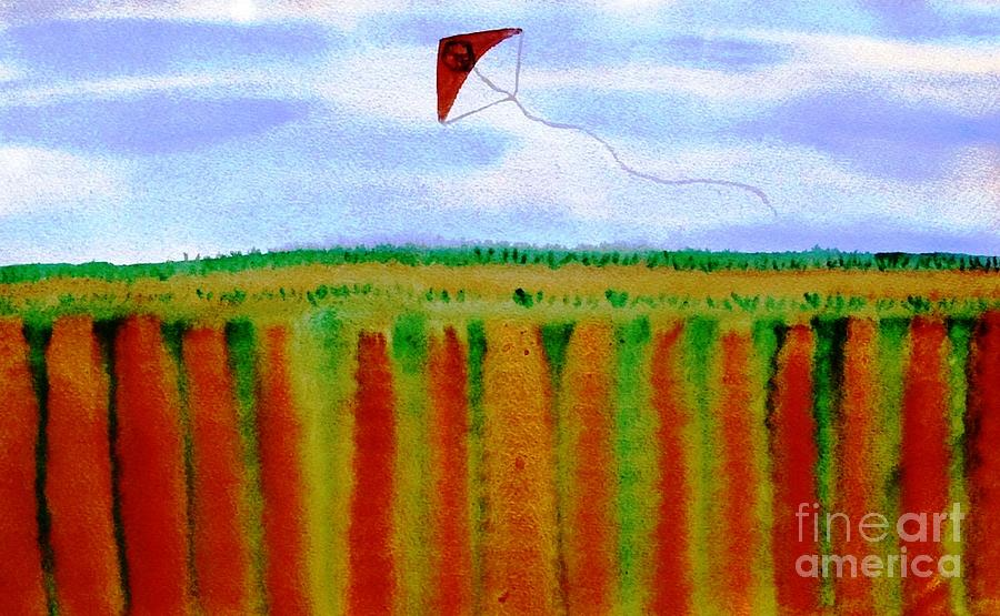 Nature Painting - ...fly For Peace And Freedom... by Jutta Gabriel