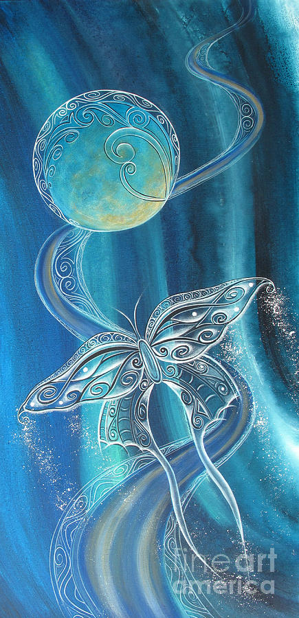 Reina Painting - Fly Free by Reina Cottier