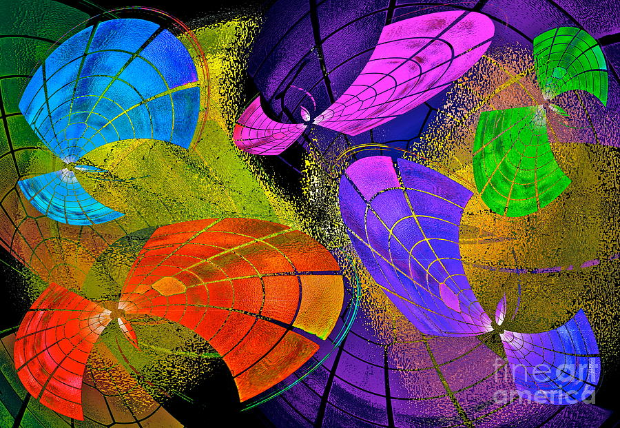 Color Photograph - Flying Colors by Gwyn Newcombe