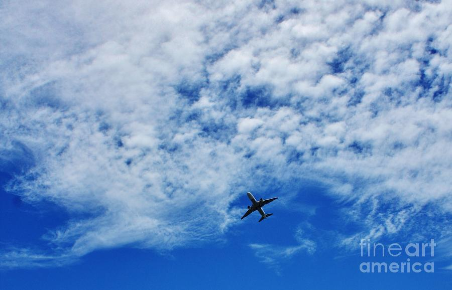 Clouds Photograph - Flying by Craig Wood