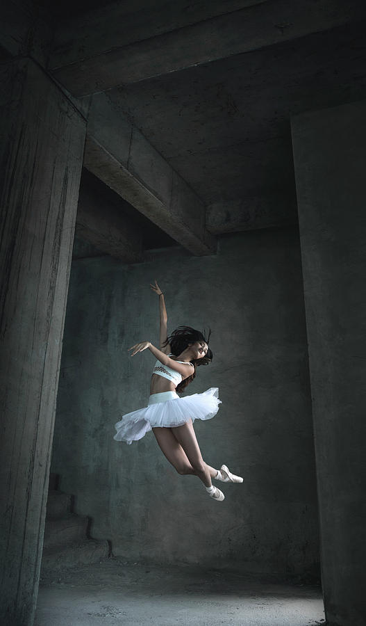 Jump Photograph - Flying Dance by Sebastian Kisworo