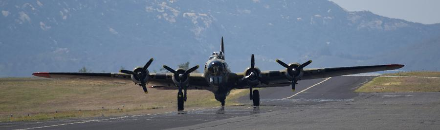 Flying Fortress Photograph