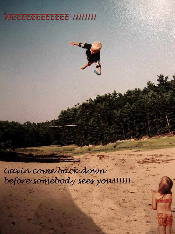Flying Gavin Photograph