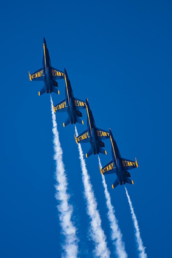 Aerobatic Photograph - Flying High by Adam Romanowicz