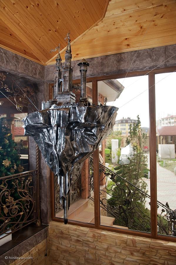 Iron Sculpture - Flying Island by Arman Hostikyan