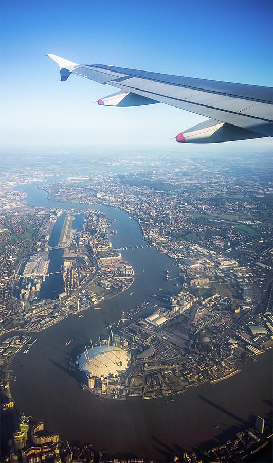 Flying Over London Photograph by Georgeclerk