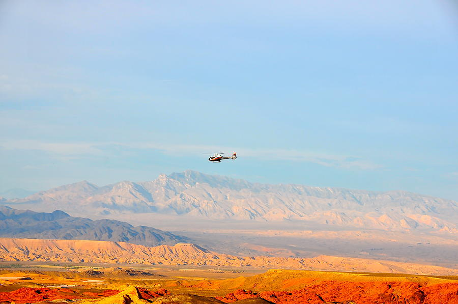Flying Over Valley Of Fire Photograph by Amanda Miles