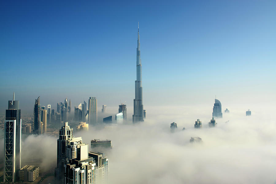 Fog In Dubai Photograph by © Naufal Mq