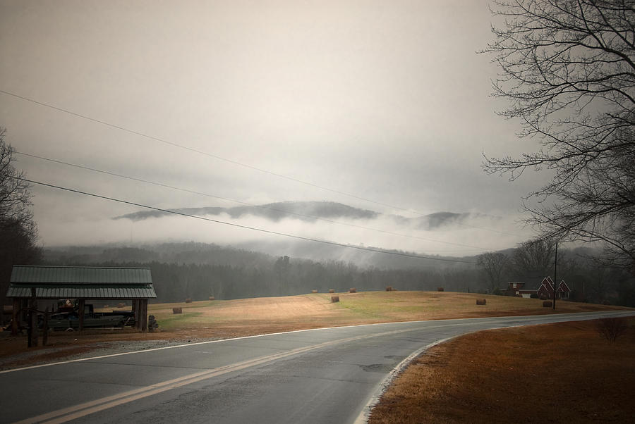 Foggy Mountains Photograph - Fog In The Hollow by Cindy Rubin