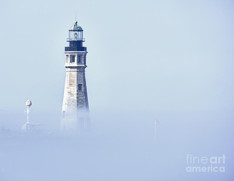 Buffalo Photograph - Fog by Phil Pantano