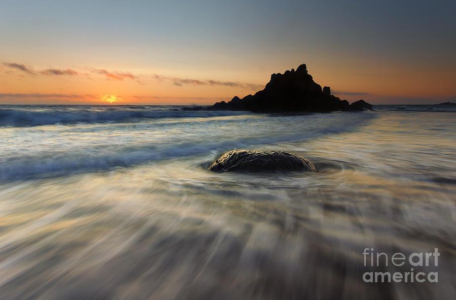 Fogarty Creek Photograph - Fogarty Tides by Mike  Dawson