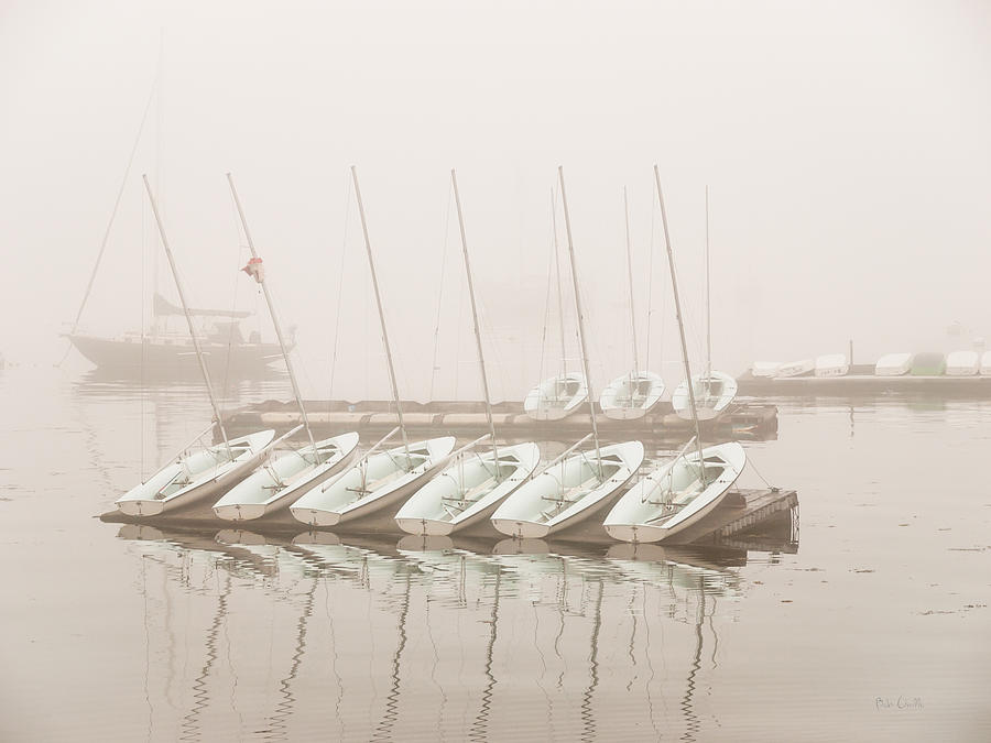 Seascape Photograph - Fogged In Again by Bob Orsillo