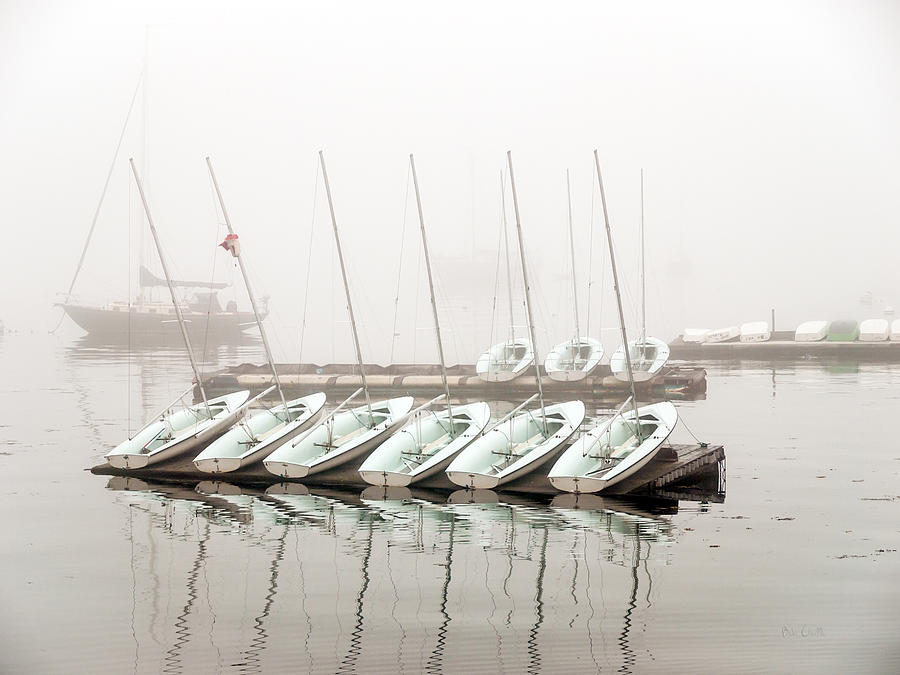 Boat Photograph - Fogged In by Bob Orsillo