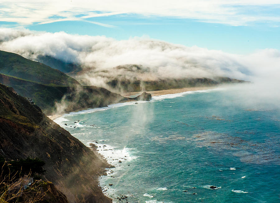 Fog Photograph - Foggy Lookout by Paul Johnson