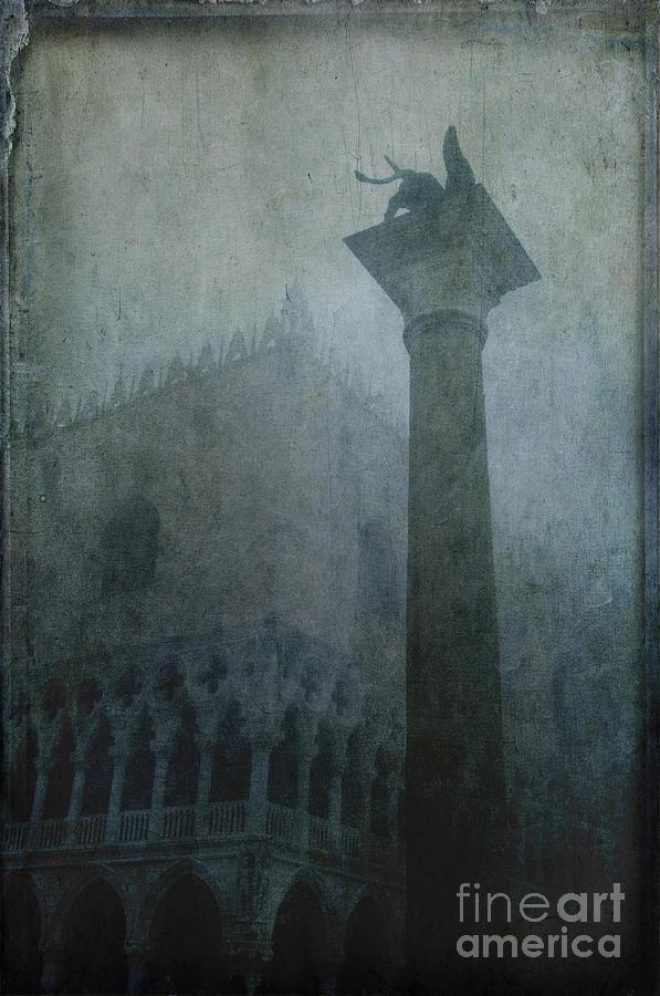 Venice Photograph - Foggy Morning by Marion Galt
