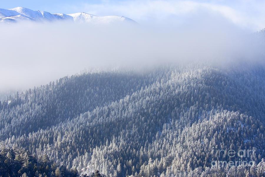 Foggy Peak Photograph