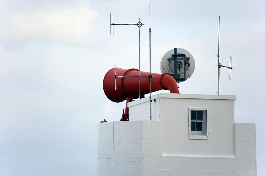 Foghorn Photograph - Foghorn by Steve Allen/science Photo Library