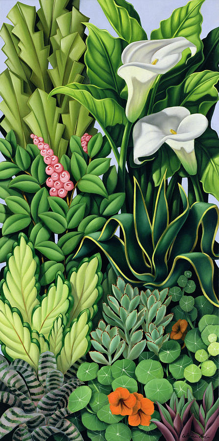 Foliage Painting - Foliage by Catherine Abel