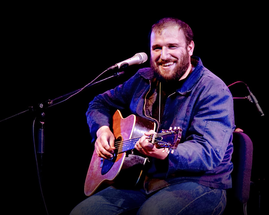 Singer Songwriter Photograph - Folk Musician David Bazan In Concert by Randall Nyhof