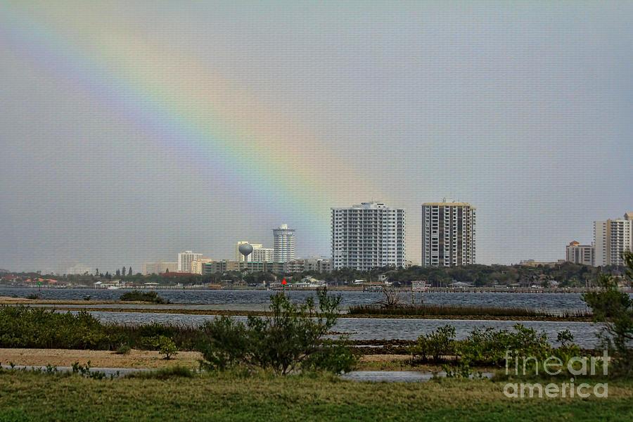 Rainbow Photograph - Follow That Rainbow by Deborah Benoit