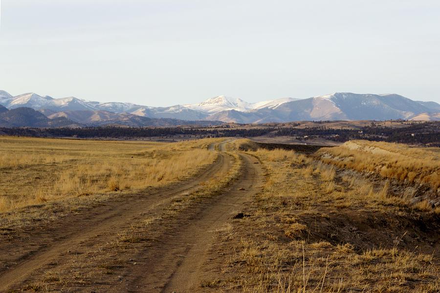 Mountains Photograph - Follow That Road by Dana Moyer