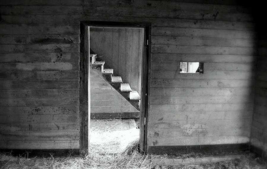Black And White Photograph - Follow The Light by Karen Wiles