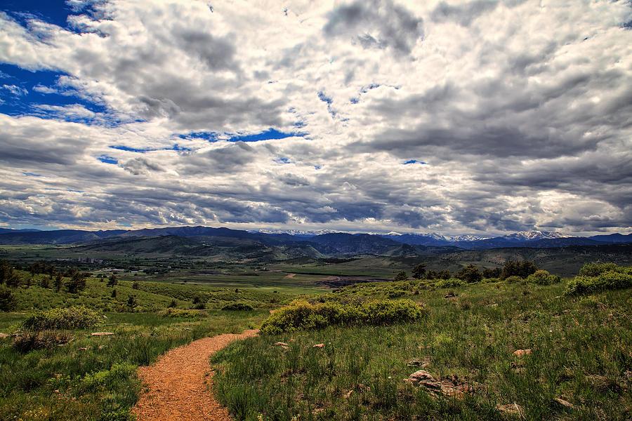 Colorado Photograph - Follow The Path by Tony Boyajian