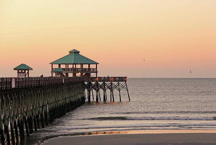 Folly Beach Pier Photograph by Daniela Duncan