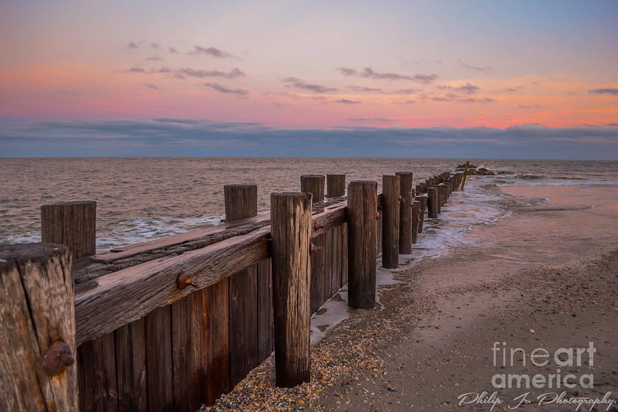 Sunset Digital Art - Folly Sunset by Philip Jr Photography