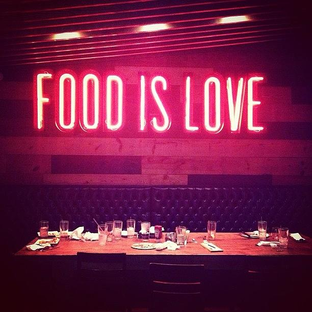 Food Is Love Story Of My Life Photograph By Things To