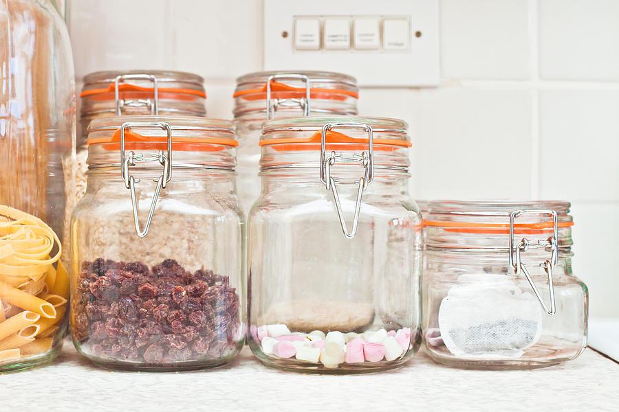 Candid Photograph - Food Jars by Tom Gowanlock