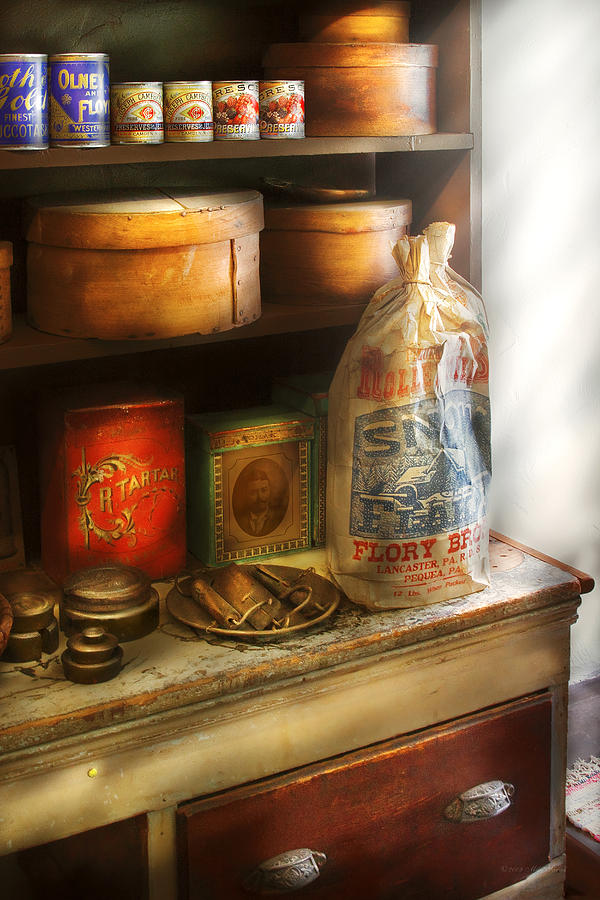 Self Photograph - Food - Kitchen Ingredients by Mike Savad