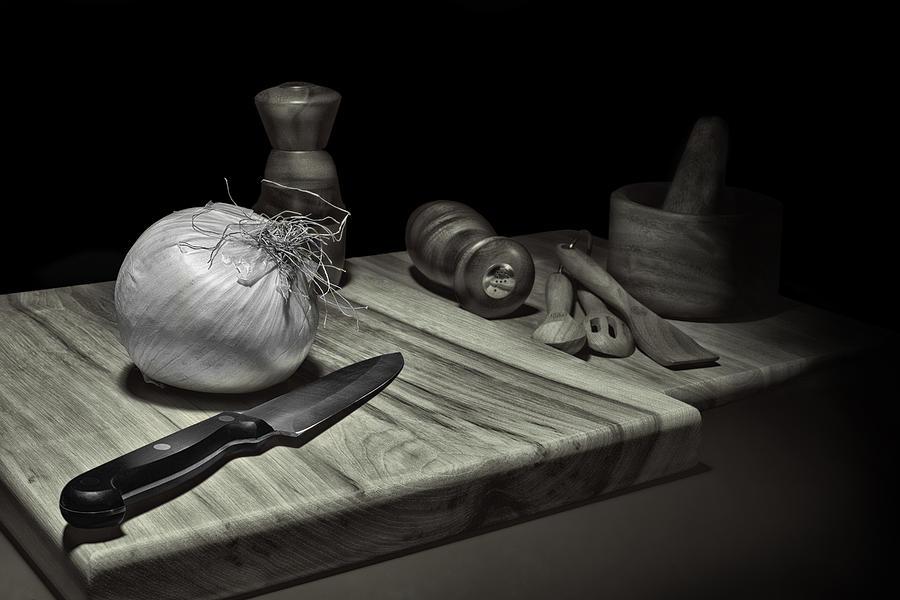 Aroma Photograph - Food Prep Still Life by Tom Mc Nemar