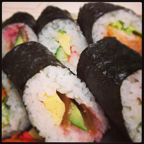 Food Photograph - #food#lunch#sushi#japan ランチ by Tokyo Sanpopo