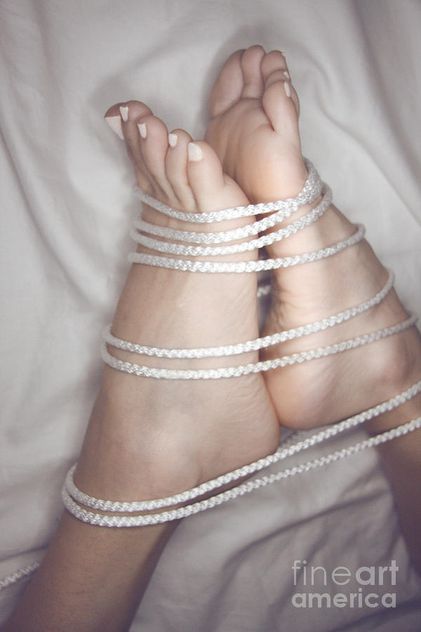 Bondage Photograph - Foot Bound by Tos