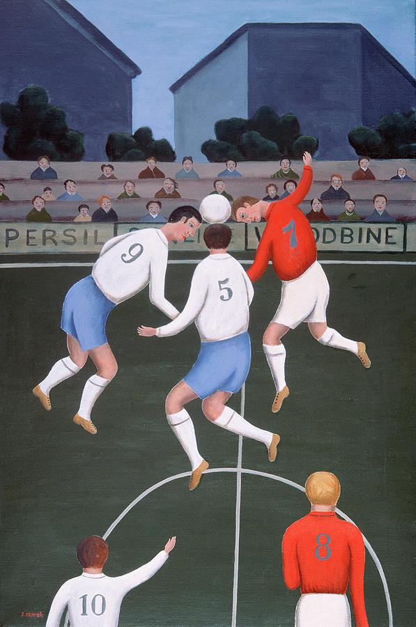 Soccer Painting - Football by Jerzy Marek